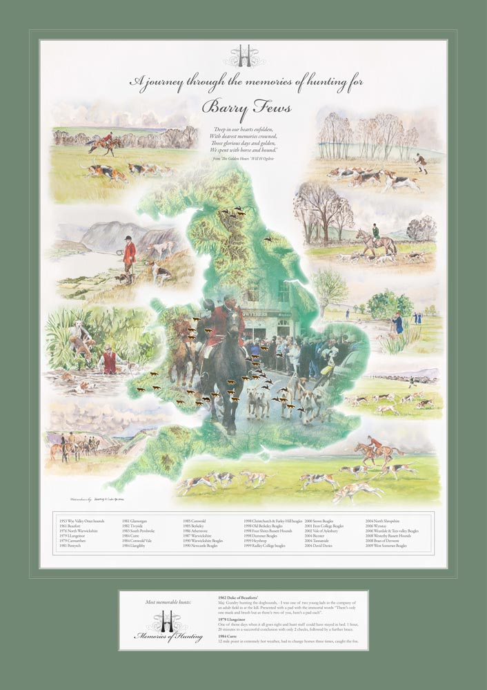Bespoke Hunting Map