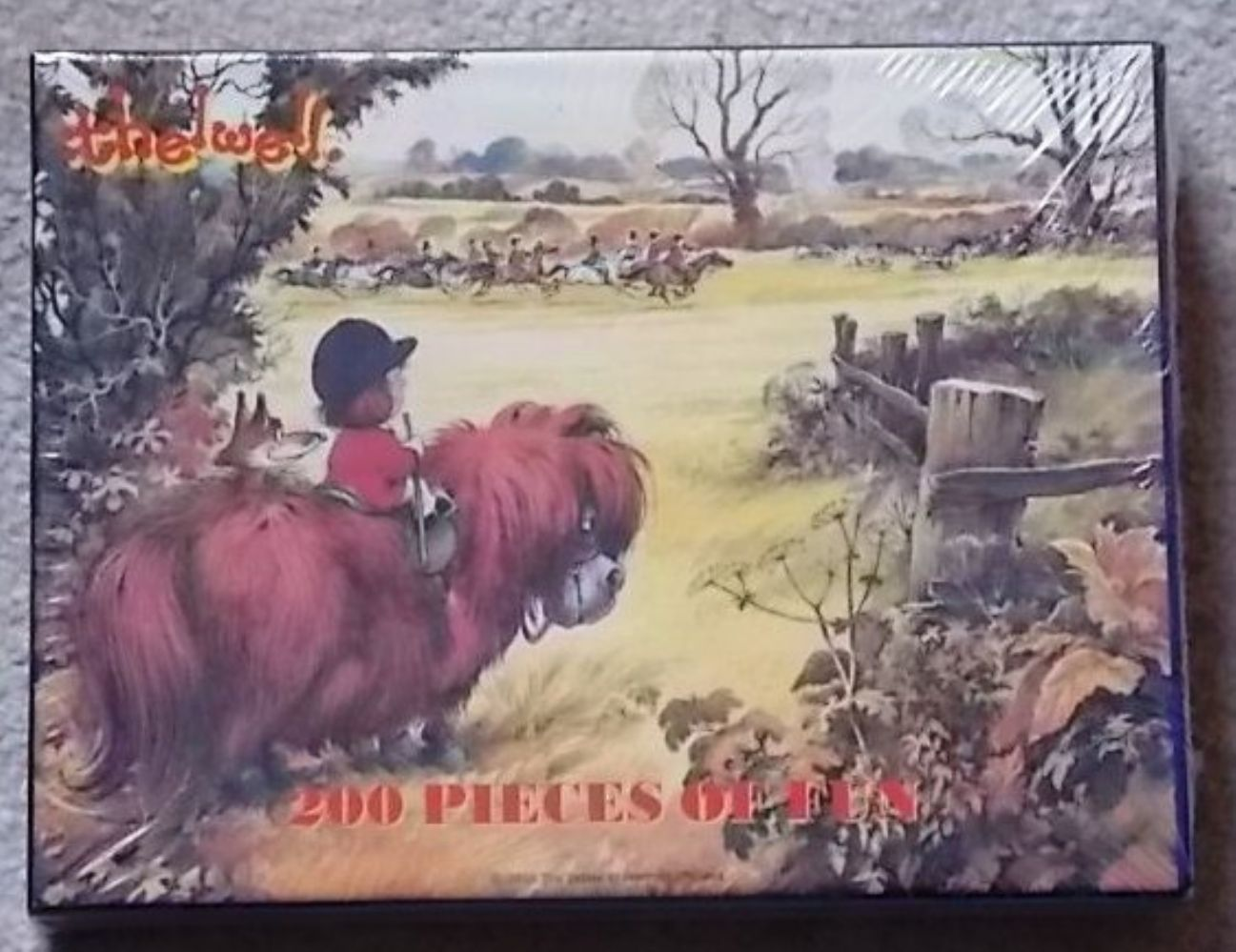 Thelwell Jigsaw Puzzle ' The View'