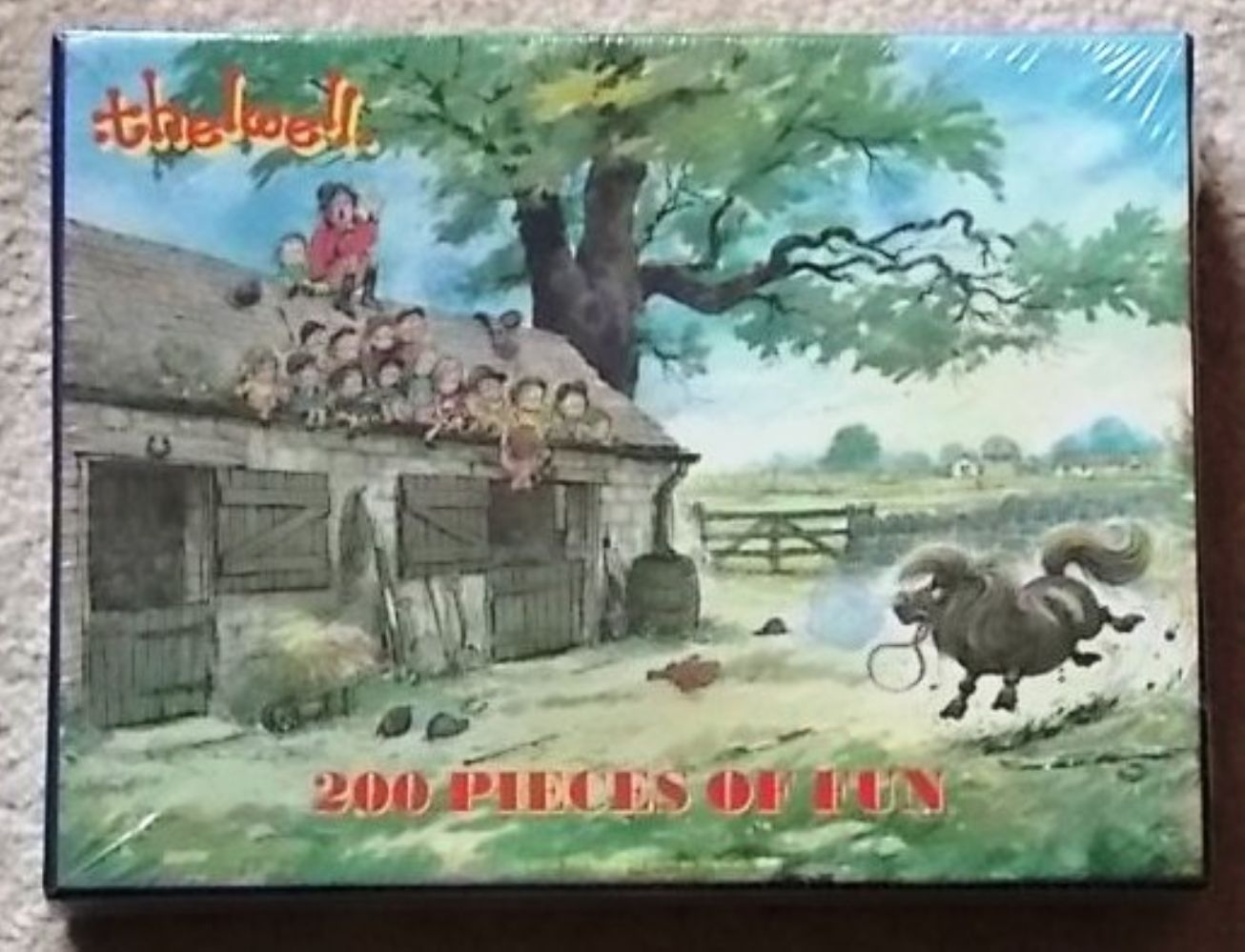 Thelwell Jigsaw Puzzle ' He'll calm down'