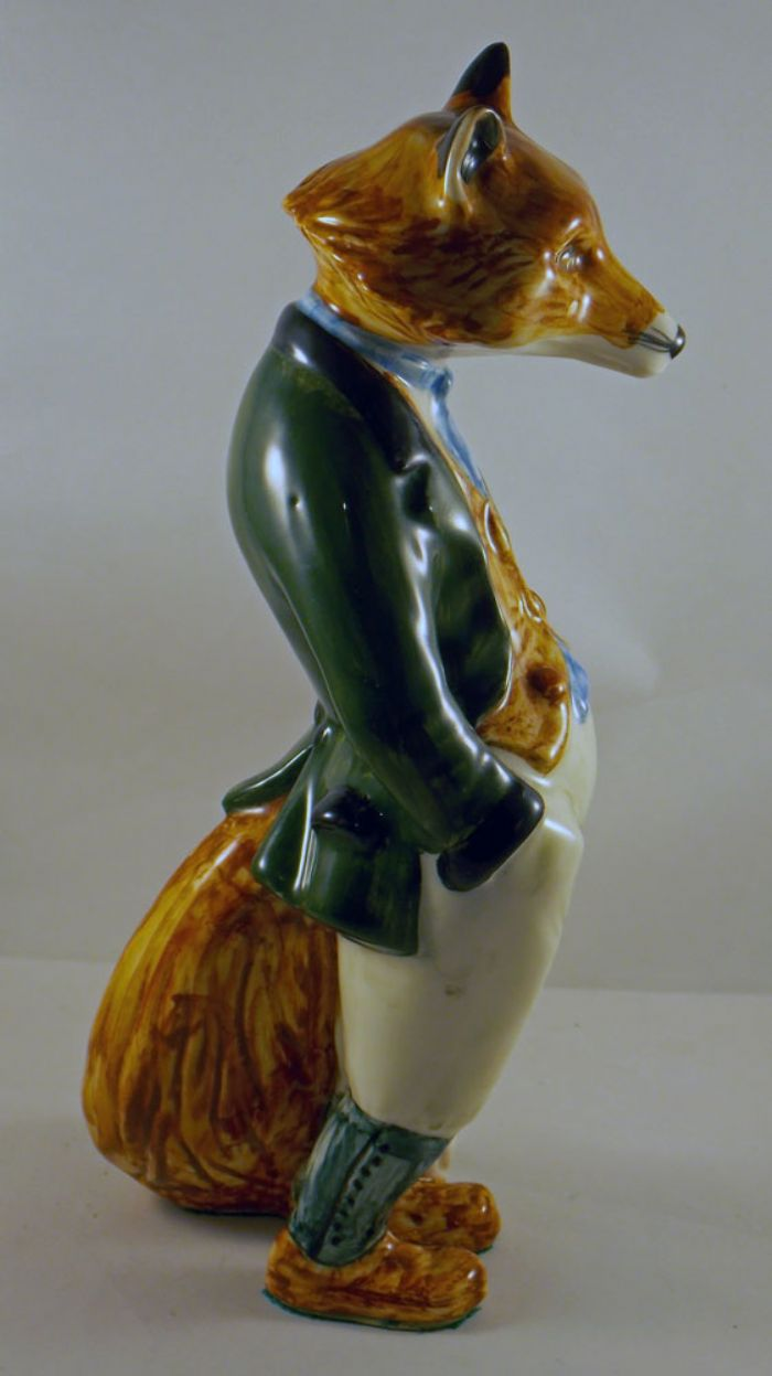 Cinque Ports Pottery Fox in Harrier Coat