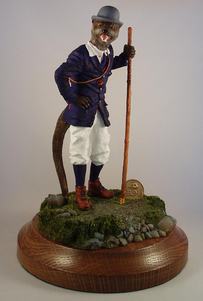 Stock Figurine Crowhurst Otter Hunt - Limited Edition