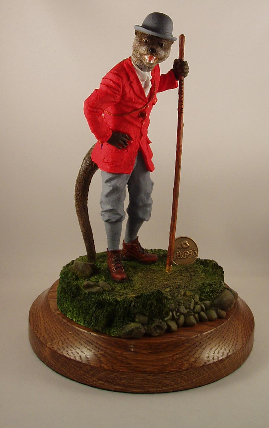 Stock Figurine Culmstock Otter Hunt - Limited Edition