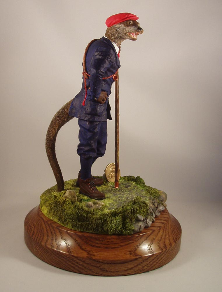 Stock Figurine Bucks Otter Hunt - Limited Edition
